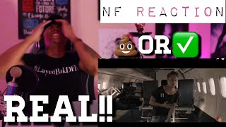 TRASH Or PASS!! NF (Real) [REACTION!!]