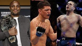 Слух о турнире UFC в России, Даниэль Кормье о защите титула в 93 кг, Ник Диаз бросил вызов боксеру