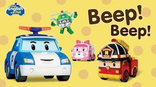 First English with Poli BEEP! BEEP! | Robocar Poli Special