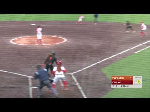 Highlights: Softball at Cornell, Game 2 - 4/27/19