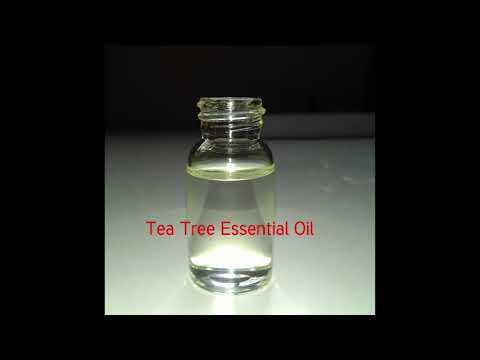 Video how to use and function of Tea Tree Essential Oil, Education