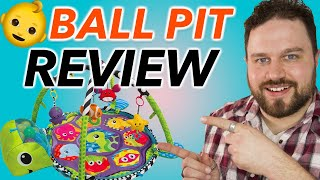 Infantino Grow-With-Me Activity Gym And Ball Pit Review