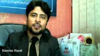 Kamran Hayat live about Social Media