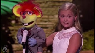 Darci Lynne's New Singing Puppet Has a Romantic CRUSH on Mel B   America's Got Talent 2017