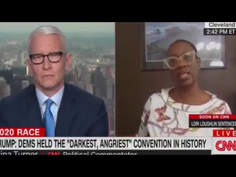 Nina Turner STUNS CNN's Anderson Cooper With The Reality Of Progressives' Path Forward