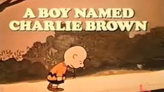 A Boy Named Charlie Brown, Theatrical Trailer