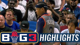 Trilogy vs 3s Company | BIG3 HIGHLIGHTS