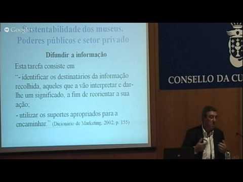 3ª Sesión. Sustentabilidade dos museos. Poderes públicos e sector privado. Antonio Maia Nabais.