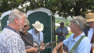 Little Mountain Church House & Tennessee 1949 - Townsend Bluegrass Jam, 5-4-12.wmv