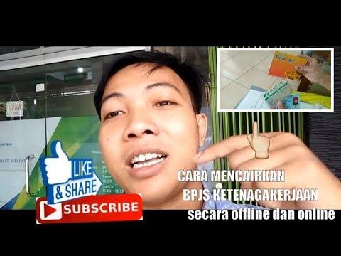 CARA MENCAIRKAN BPJS KETENAGAKERJAAN secara offline dan online I vlog mr waked melon