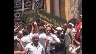 تشييع جنازة سيف العماري عضو مجلس إدارة الزمالك السابق