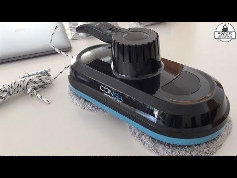 Review del robot limpiacristales Conga WinRobot 870 de Cecotec