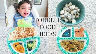 TODDLER FOOD IDEAS 2018
