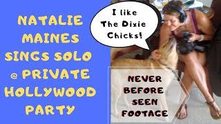 Natalie Maines Private Performance / Dixie Chicks Lead Singer Solo