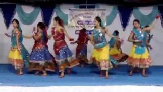 CHANDAN TALAVADI RE NON STOP GOKUL AVO  GRIDHARI GUJARATI GARBA NONSTOP DANCE ANNUAL FUNCTION 2016