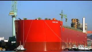 El barco más grande del mundo zarpa por primera vez