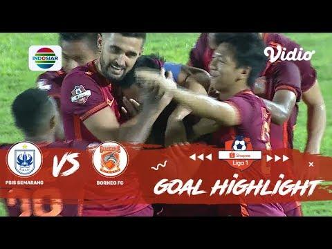 PSIS Semarang - Пусамания Борнео 2:2. Видеообзор матча 26.10.2019. Видео голов и опасных моментов игры