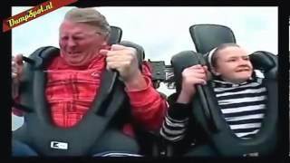 Смешная Реакция на американские Горки Funny Reaction on Roller Coaster
