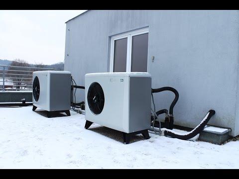 Vytápění pasivního domu tepelným čerpadlem