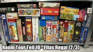 Room Tour Teil 10 - Elias Regal (2/3) - perfekte Familienspiele für Groß und Klein