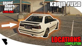 KARIN FUTO LOCATIONS Compilation 2020