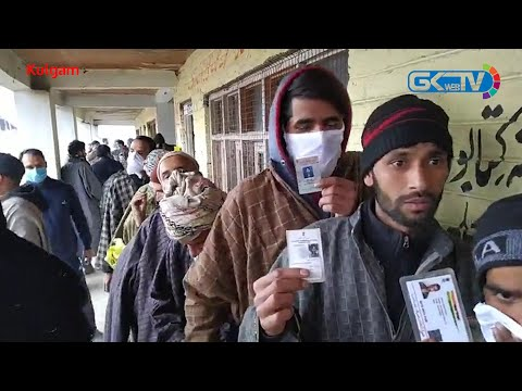 43.27% votes polled till 1 PM in 5th phase of J&K DDC elections
