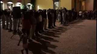 preview picture of video 'Silenzio, Canto degli Italiani ... Corsa - Fanfara Scattini - Verdello 2013'