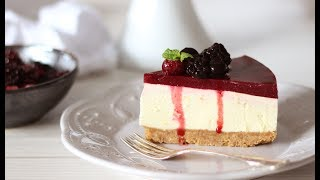 Berry Cheesecake Recipe | No Bake Cheesecake Recipe