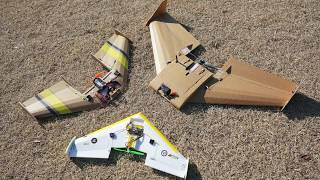 FT Spear Arrow Pizza plane FPV flying wing gopro DIY RC airplane 비행기 flite test flitetest