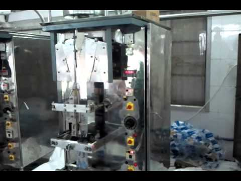 Water Automatic Pouch Packing Machine