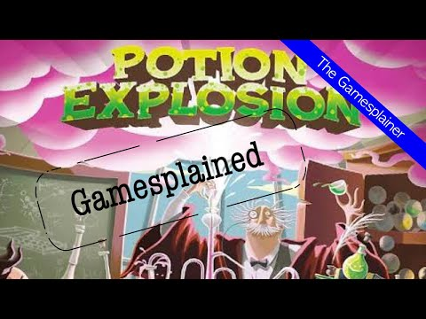 Potion Explosion Gamesplained - Part 1