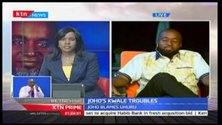 Governor Hassan Joho comments on his rally disruption earlier today