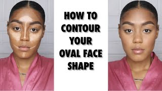 HOW TO CONTOUR YOUR OVAL FACE | ALEXIS JONES