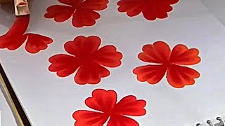 Flower Designs For Painting On Cloth मफत ऑनलइन