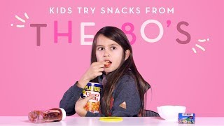 Kids Try Snacks from the 80s | Kids Try | HiHo Kids