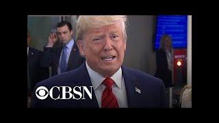 "Trump decries Ukraine whistleblower controversy as ""ridiculous"""