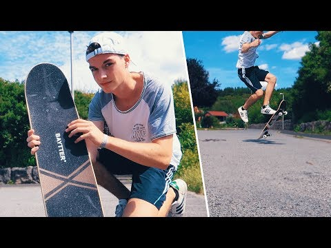 30€ Billig Amazon Skateboard Review