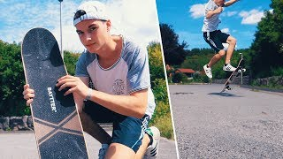 30€ Billig Amazon Skateboard Review