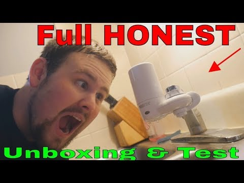 Brita Tap Water Filter Faucet Sink Filtration Purifier - Full Honest Unboxing & Test & Review