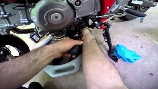 How to! 2009-2015 Suzuki SFV650 Gladius Oil change.