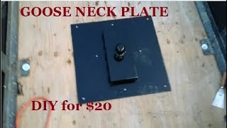 Red Neck GOOSE NECK HITCH for $20 Dollars RV SALVAGE FUN