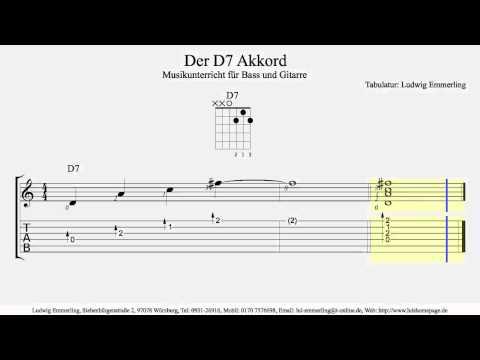 D7 Chord / Der D7 Akkord
