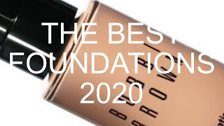 THE BEST FOUNDATIONS 2020! by Wayne Goss