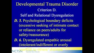 UpdateonComplexPTSDandDevelopmentalTraumaDisorderforCliniciansandResearchers