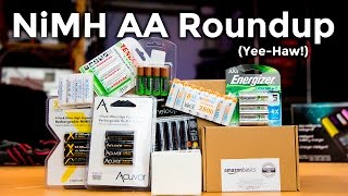 NiMH Battery Roundup - Eneloop, EBL, Sunlabz, Amazon, and Other AA Cells Tested
