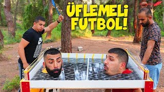 Dünya da Bir İlk Üflemeli Futbol ( Cezalı! )