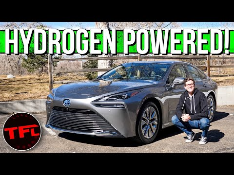 External Review Video 846yRFp7VF0 for Toyota Mirai Hydrogen Fuel-Cell Sedan (2nd-gen, FCB130)