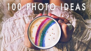 100 CREATIVE PHOTOGRAPHY IDEAS AT HOME (using What You Have)
