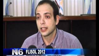 preview picture of video 'FLISOL San Rafael 2012 - Canal6 Telesur'