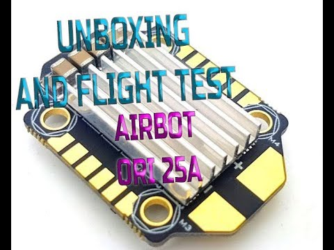 Airbot Ori 4 In1 BB21 25A - UNBOXING & FLIGHT TEST from Banggood.com